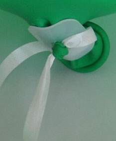 Ballonverschlussmaterial Bänder