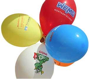 Ballons bedrucken lassen