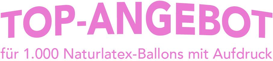 Express Ballons bedrucken lassen Angebot